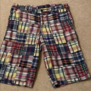 🆕Boys Polo Ralph Lauren Plaid Shorts